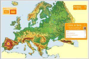 Mapa De Europa Juegos.Pin En Mapas Sociales