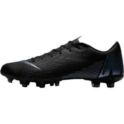 Photo of Nike men's soccer shoes firm bottoms Vapor 12 Academy, size 43 in black / black, size 43 in black / b
