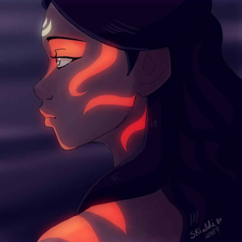 Katara as the Painted Lady