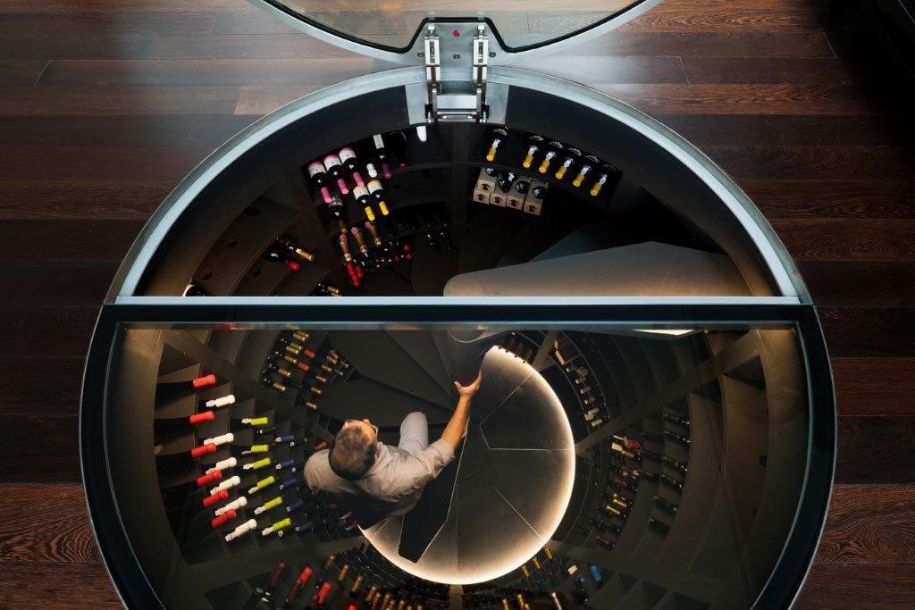 Piwnica Pasywna Na Wino Seria Maxi Ronde Spiral Wine Cellar Wine Cellar Wine Storage