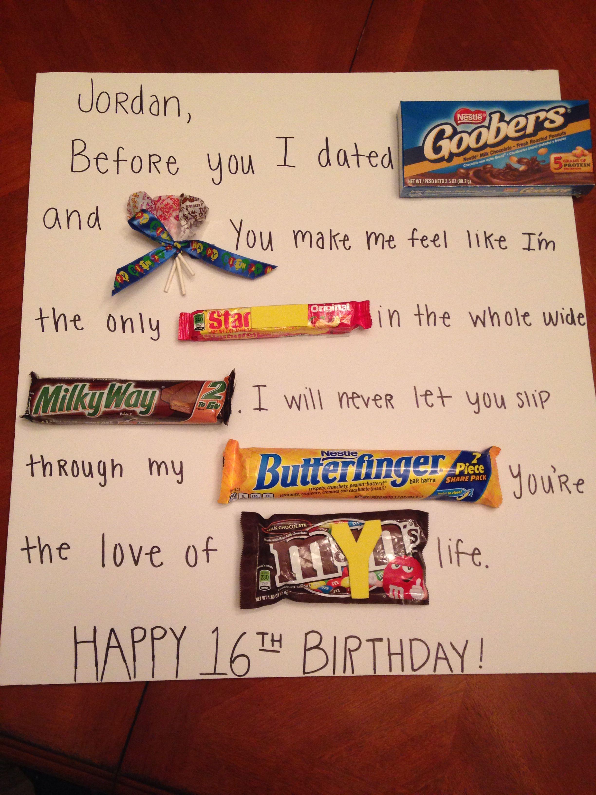 Candy Poster For Boyfriend Girlfriend Boyfriend Ideas