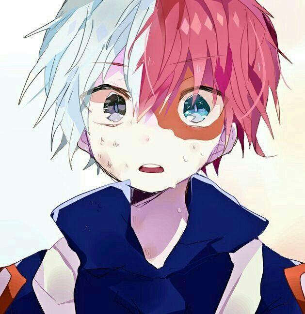 Baby Todoroki Transformed Wearing Uniform My Hero Academia Shouto Boku No Hero Academia Hero