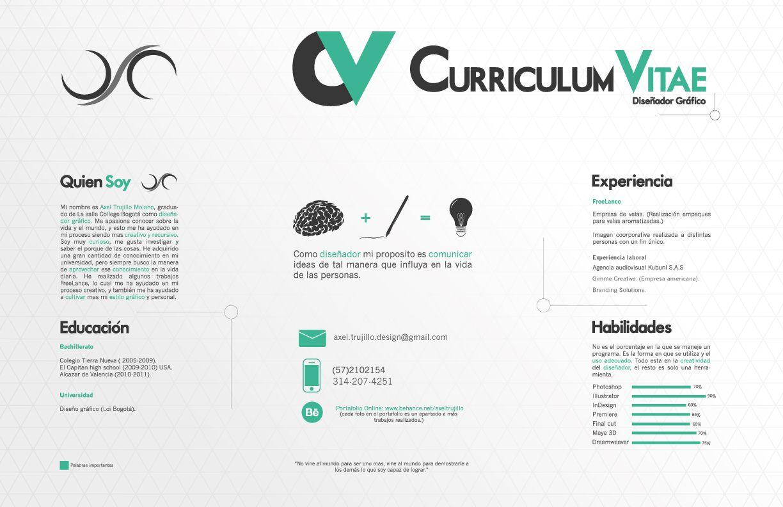 Pin de Adaspirant.com en Currículum vitae - CV | Pinterest ...