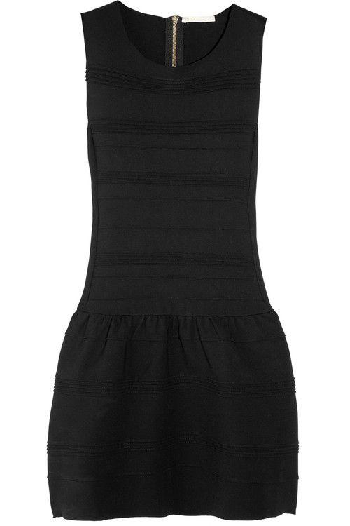 Maje | Madison pleated stretch-jersey dress