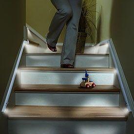 Led Stair Lights Hallway Lighting Stairway Lighting Interior Led Lights
