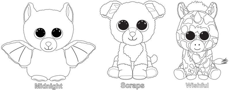 Beanie Boo Coloring Pages For Your Kids - Free Coloring Sheets Teddy Bear  Coloring Pages, Bear Coloring Pages, Beanie Boo