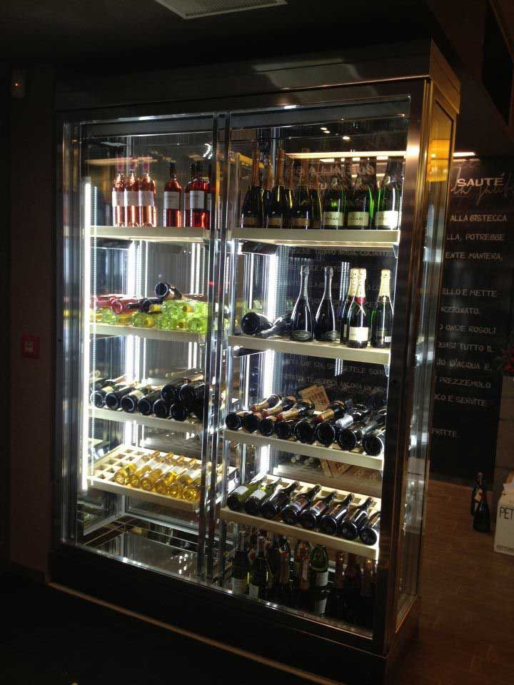 Tekna Sliding Glass Door Wine Cooler