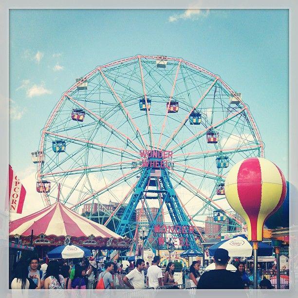 Luna Park #ConeyIsland #NYC