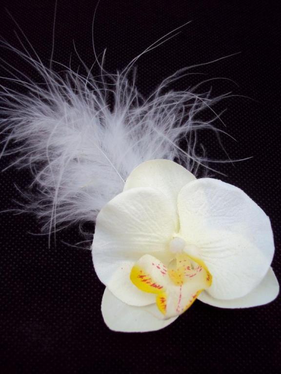 destockage massif soldes tout doit disparaitre broche ou boutonniere ou pince cheveux orchidee. Black Bedroom Furniture Sets. Home Design Ideas