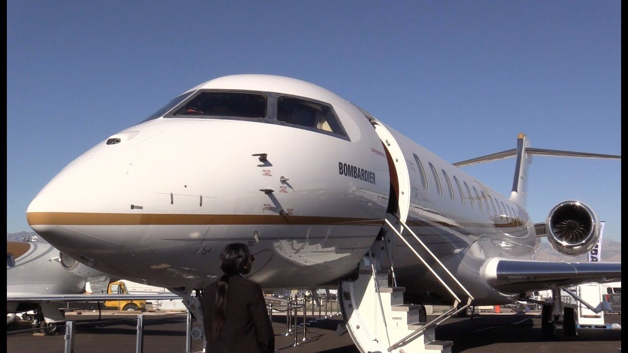 Bombardier global 7000s amazing cabin global private