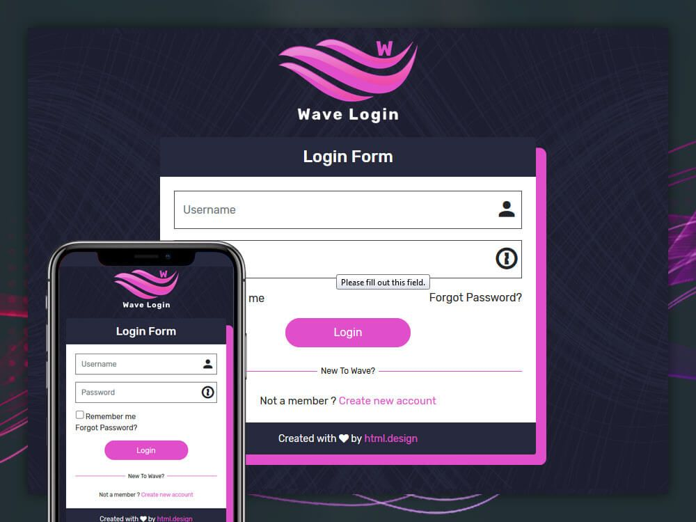 Login Form Responsive Template Login Form Templates Bootstrap Template