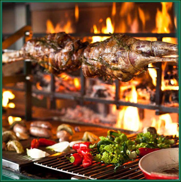 Spit roast leg of pork recipes