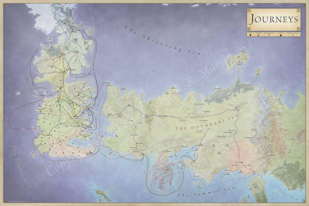 Map of Volantis Journeys u2013 the