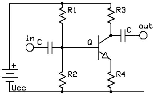 Voltage Divider Biasing of BJT Amplifier (With images