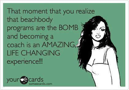 I'm so glad I became a Beachbody coach!! You too can become one.