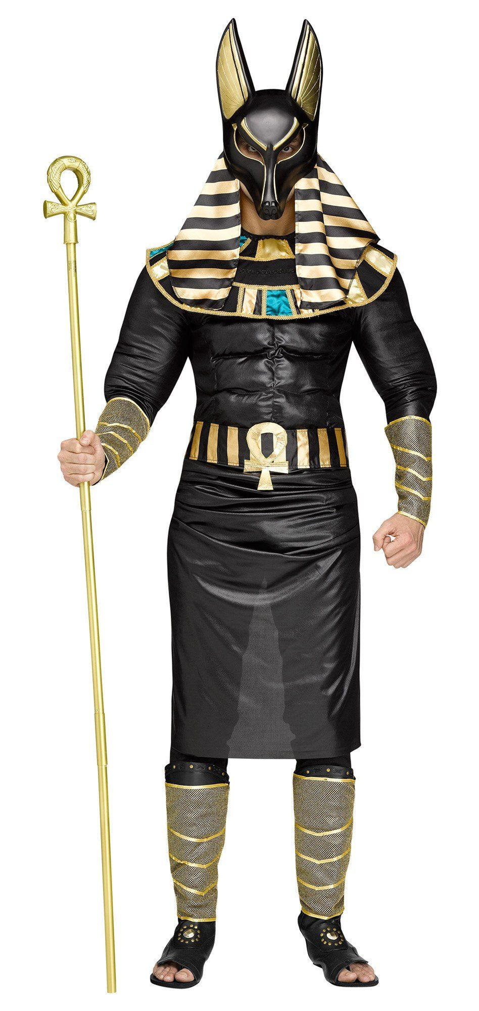 Anubis Egyptian God Men's Adult Halloween Costume Jackal Death ...
