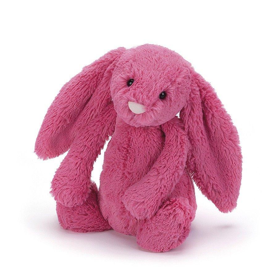 Jellycat Bashful Strawberry Bunny stuffed animal Cow and