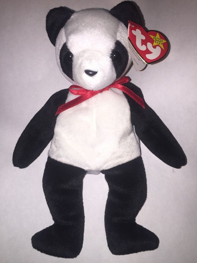 Toy · VINTAGE RARE RETIRED MWMT Ty Beanie Babies 1998 FORTUNE Teddy Bear ... 78c3ac5076aa