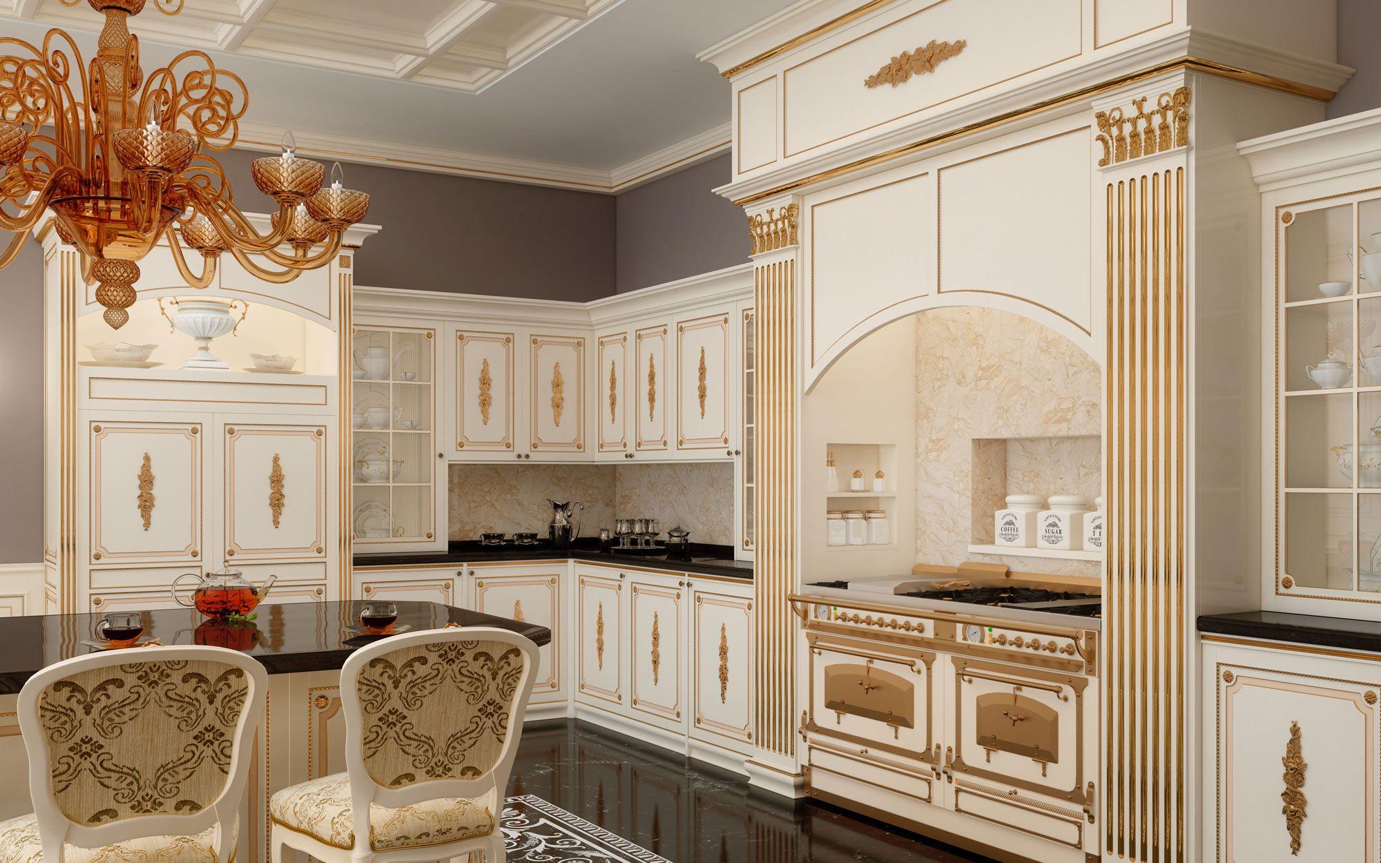 Cucine classiche su misura: modello Veruska | Luxury Classic ...