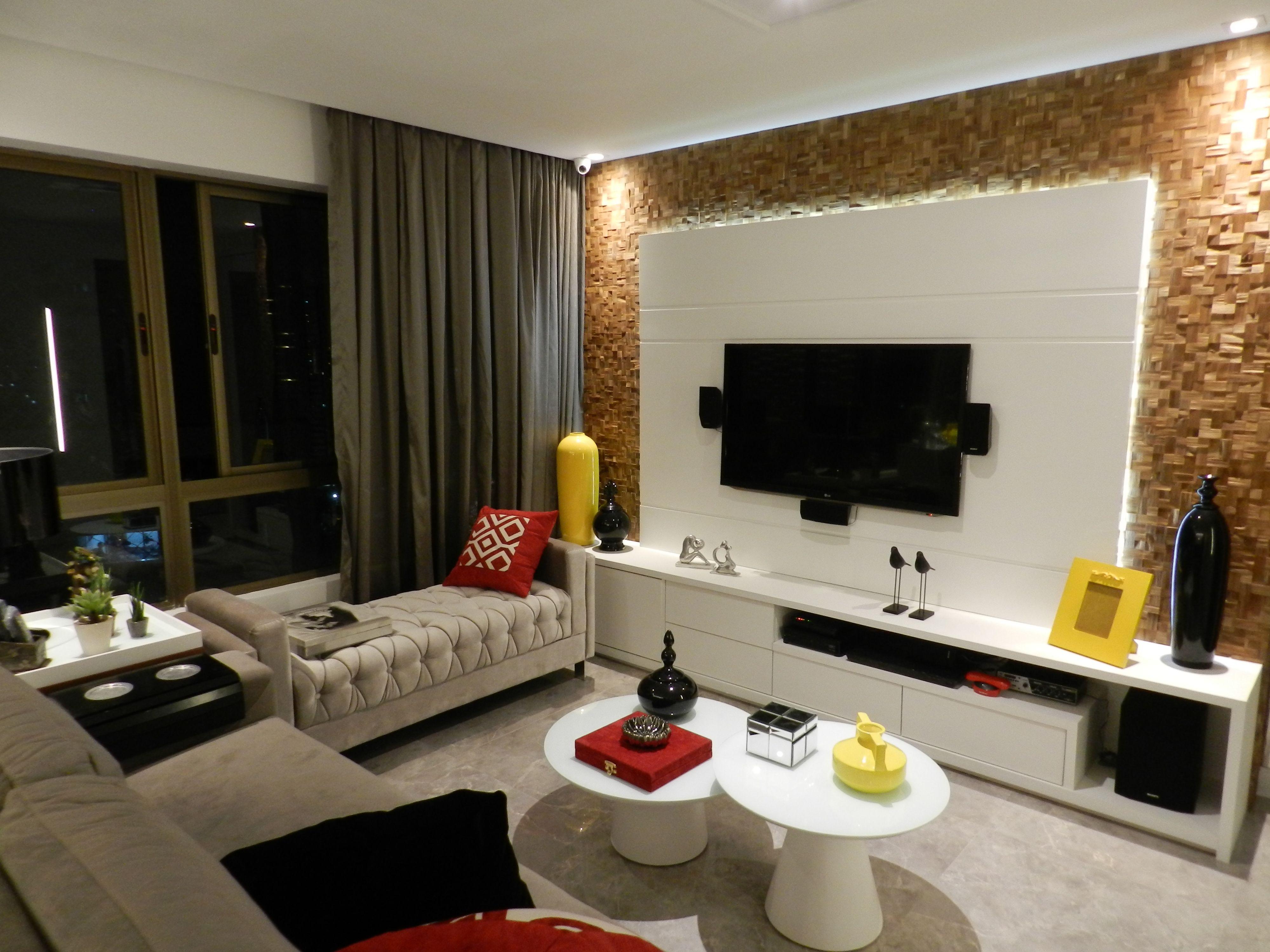 Apartamento 120m2 Recife Home Decor Colors Decor Decora O Com  -> Sala De Estar Apartamento Decoracao