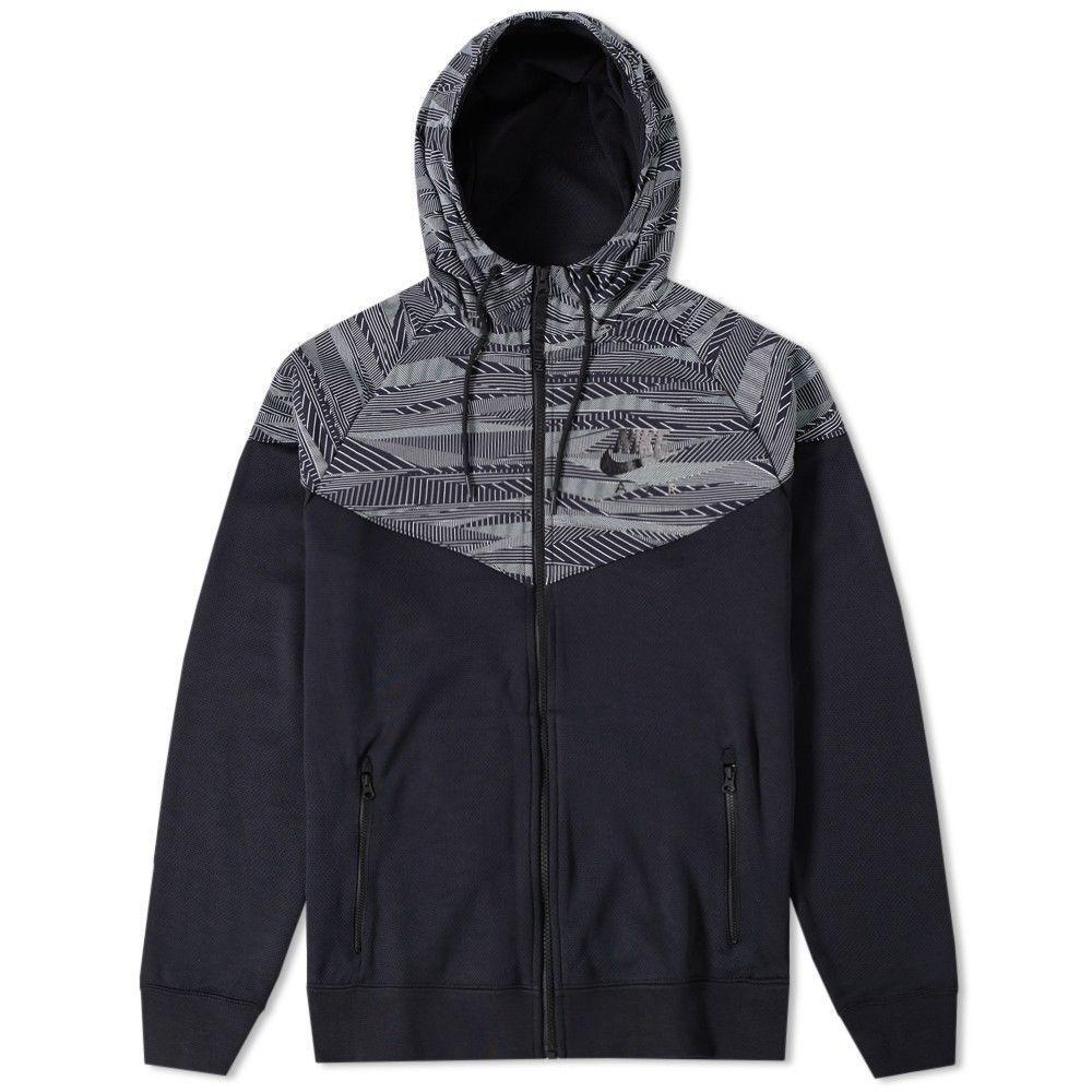 Nike epic jacket - Nike Max Air Hybrid Windrunner Jacket Mens 2xl Black White 805138 011 Nike Jacket