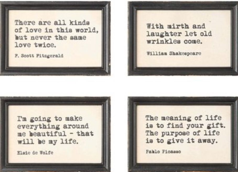 Pin By Joy Latvis On Words Frames On Wall Framed Wall Art Sets Framed Wall Art