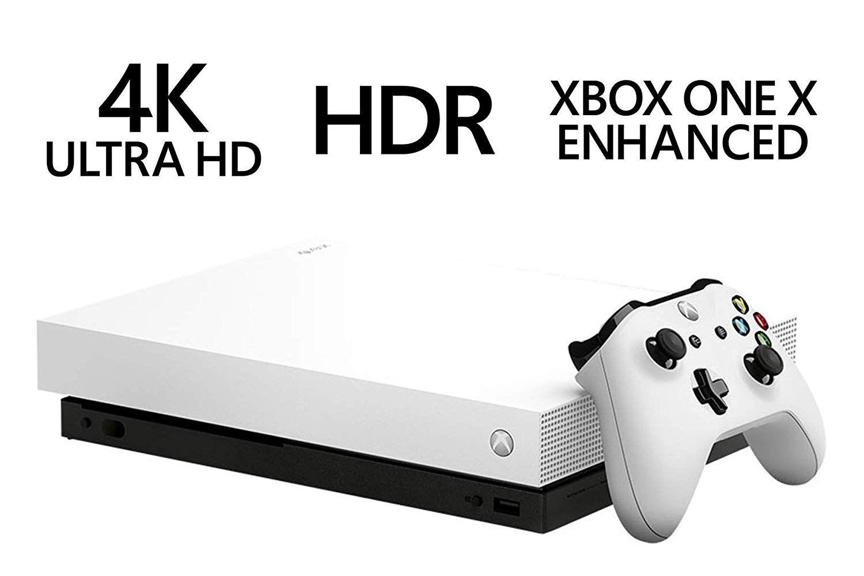 Microsoft Limited Edition White Xbox One X Forza Motorsport 7 And Horizon 4 Bundle Forza Horizon 4 Forza Mot Xbox Wireless Controller Xbox One Gaming Console