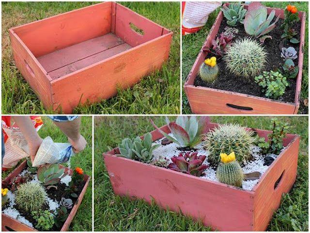 Diário de uma Sementeira: DIY - Vasinhos diferentes feitos com material reciclado