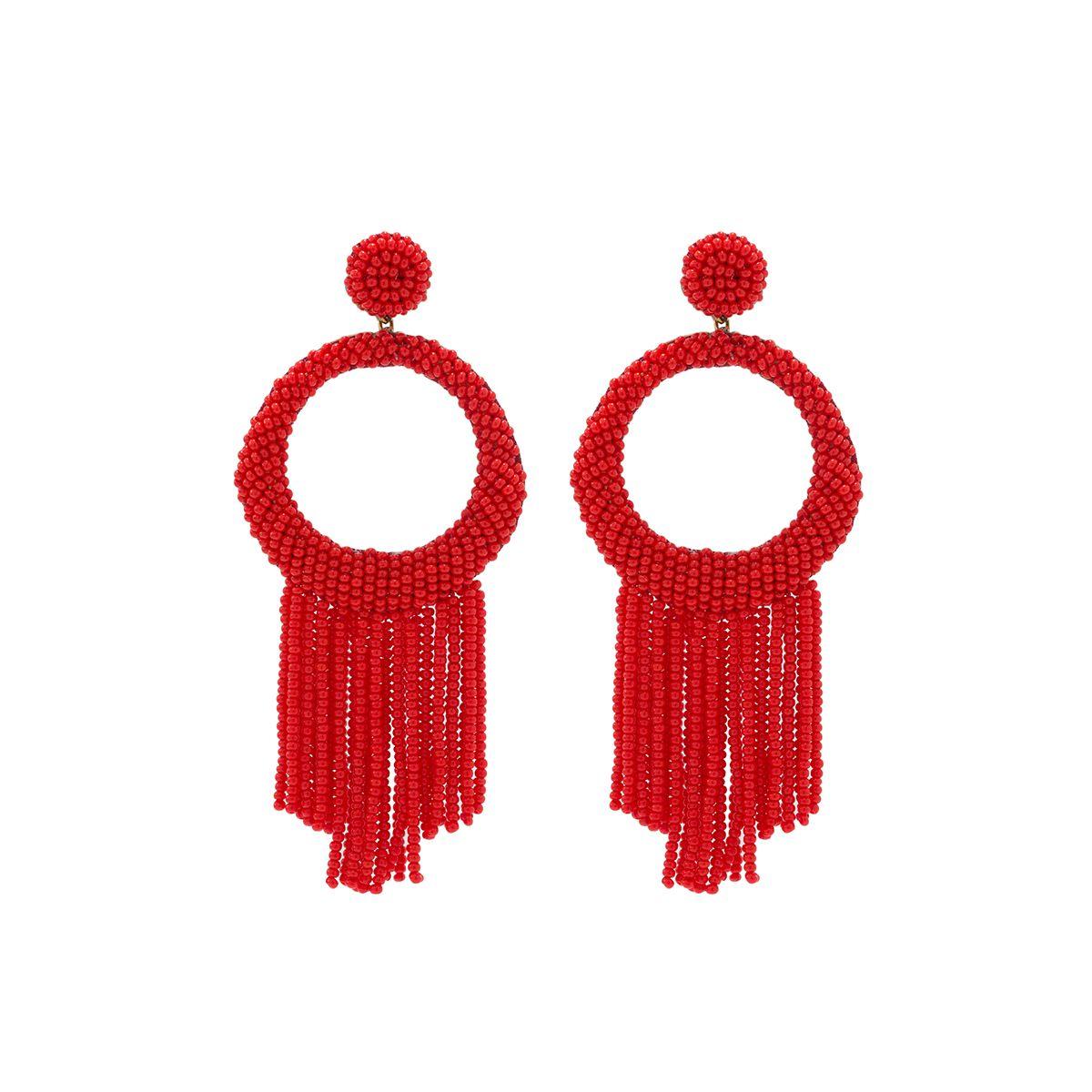 Roberta Earrings - Red #shopceladon
