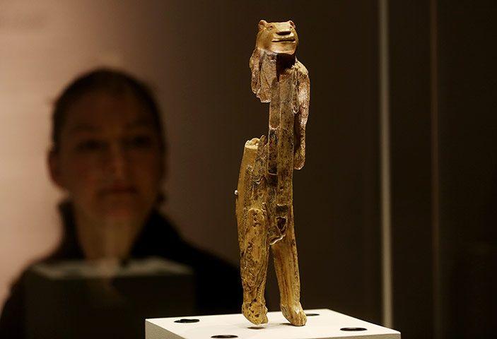 Lion Man Cave Art : The lion man found in a cave hohlenstein stadel