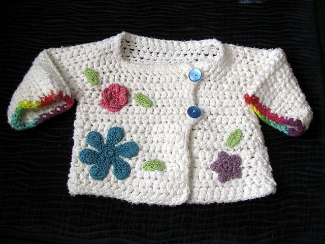 Ravelry: MicheleStitches\' Celeste\'s Sweater (BICO) | Girl Babies ...
