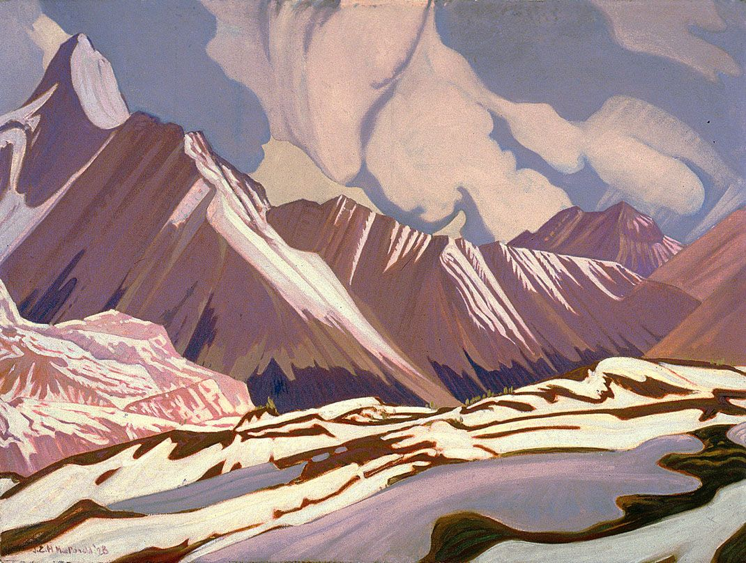 """ Front Of Winter James Edward Hervey Macdonald 1928"