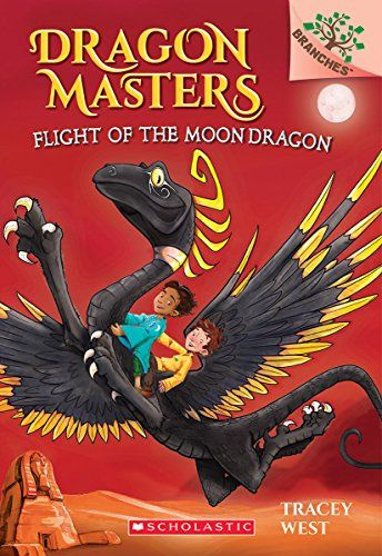 (8yr old) Flight of the Moon Dragon: Dragon Masters (paperback, number 6)