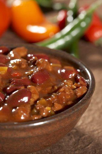 Chile con frijoles (con imágenes)   Recetas para cocinar