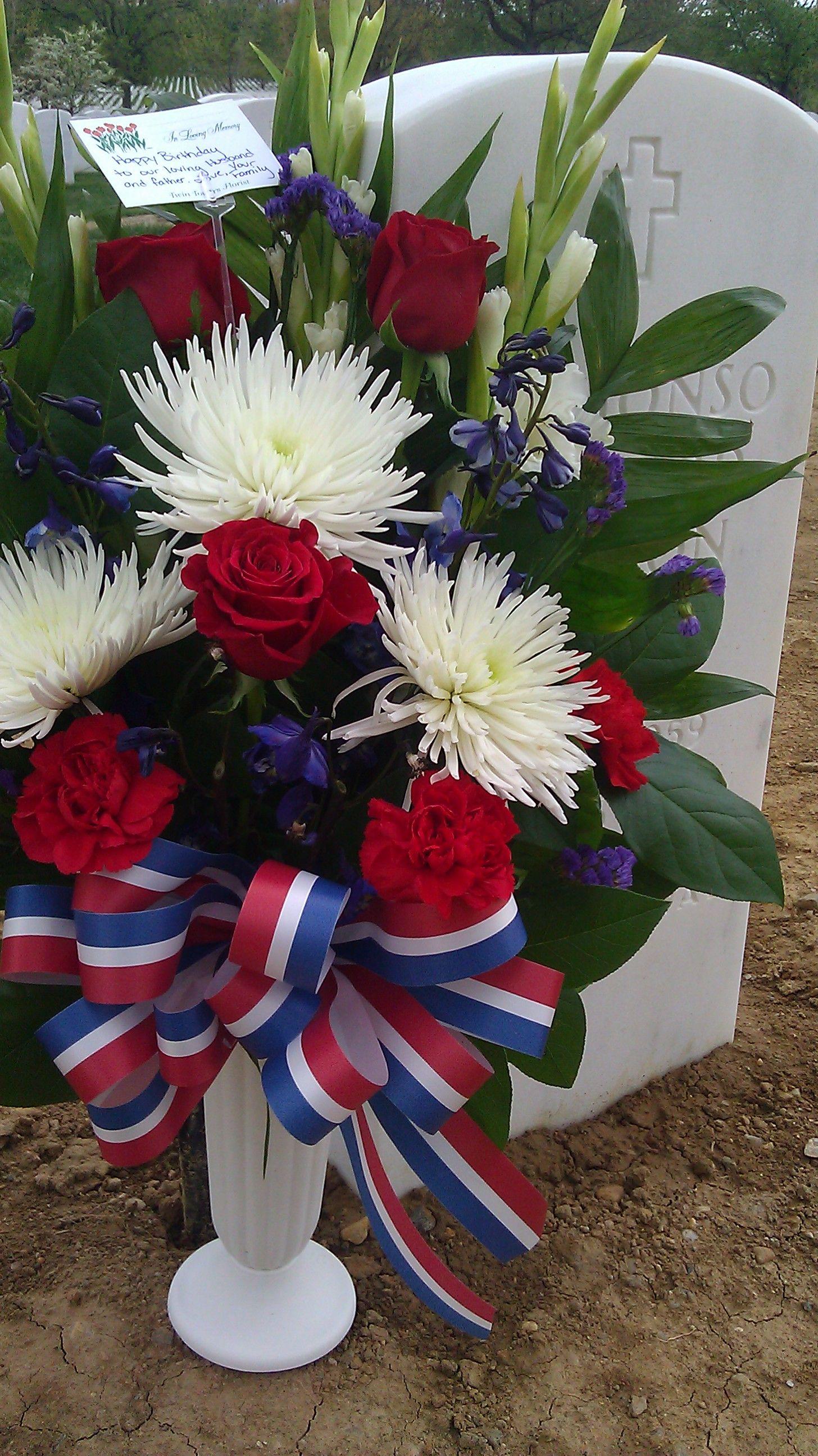 Flowers for my husband my hero my soul mate one of our nations flowers for my husband my hero my soul mate one of our nations heroes i love you i miss you izmirmasajfo