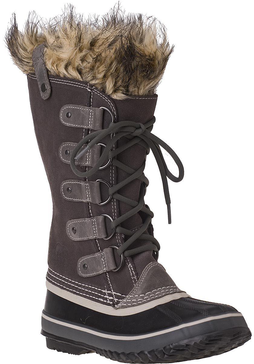 Sorel Joan of Arctic Grey Weatherproof Boot - Sorel Boots