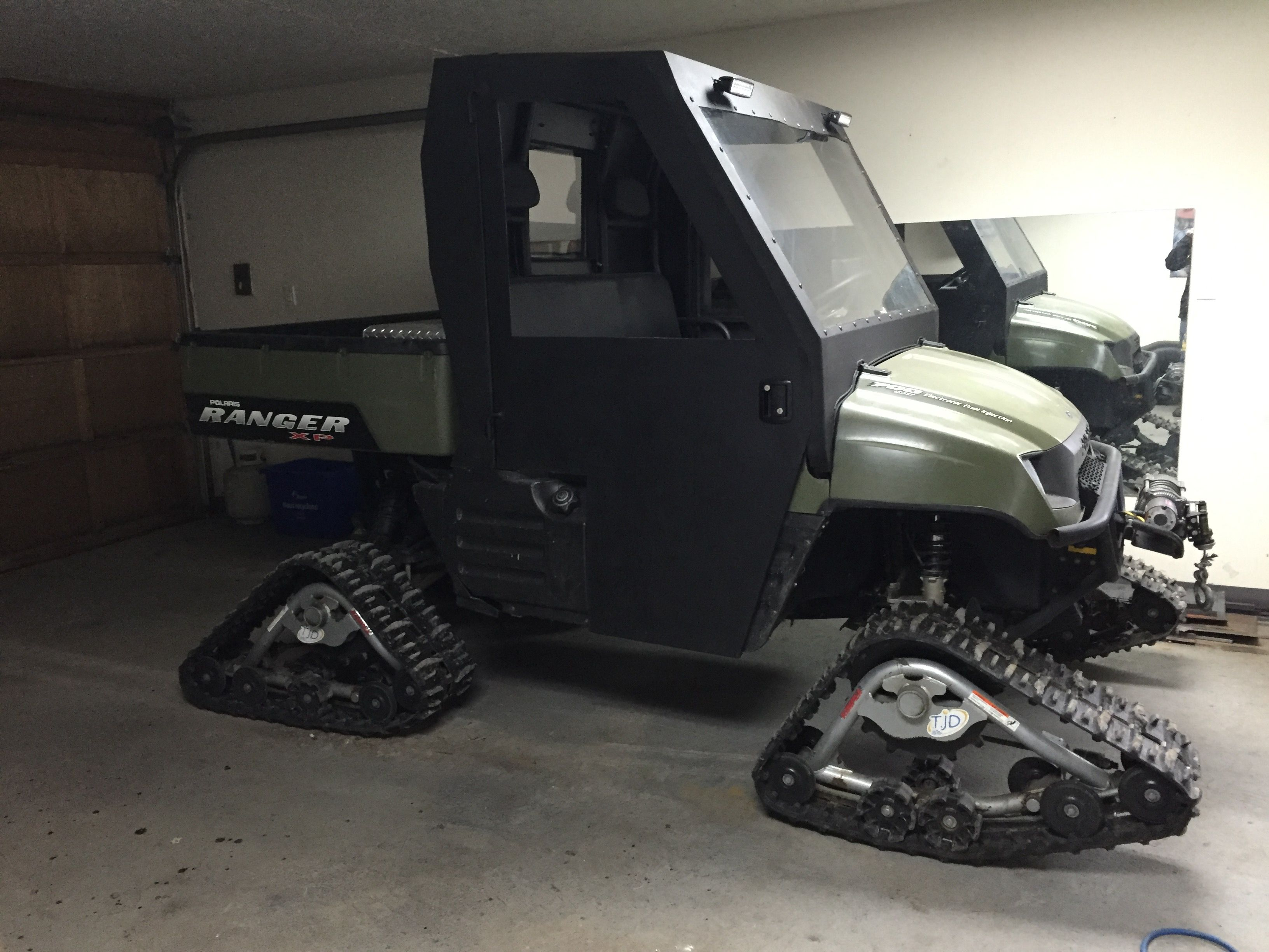 Homemade Polaris Ranger Doors Atc S And Atv S Polaris