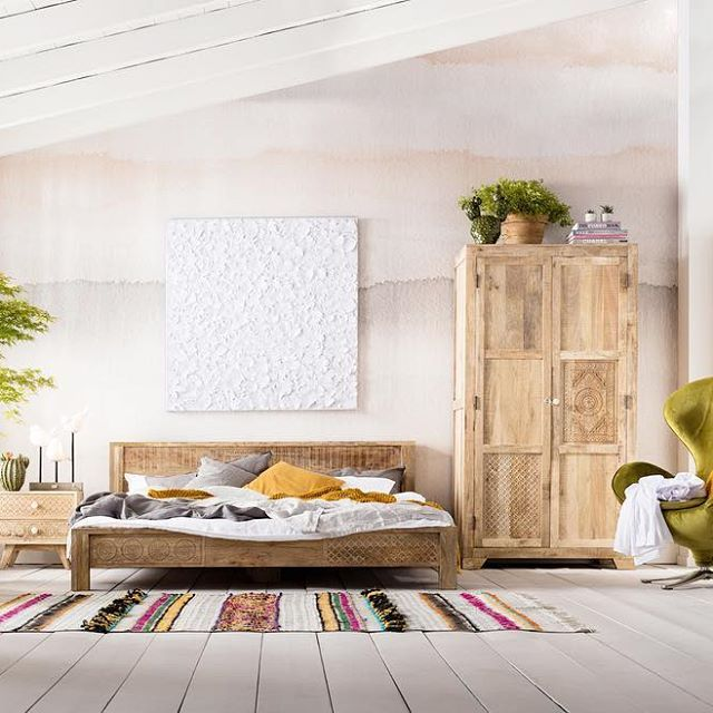 Today\'s bedroom look The charming Puro collection is made of light ...