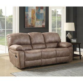 Samu0027s Club   Roosevelt Reclining Sofa Part 97