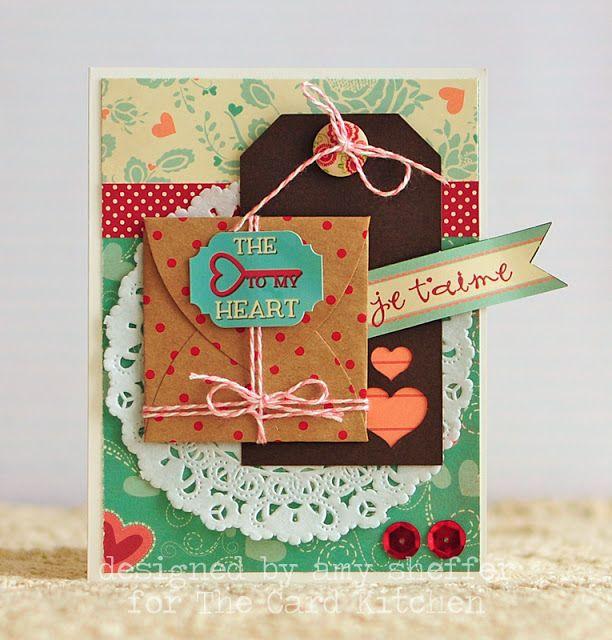 Tarjetas hechas a mano tarjetas de cocina en enero parte - Cocinas hechas a mano ...