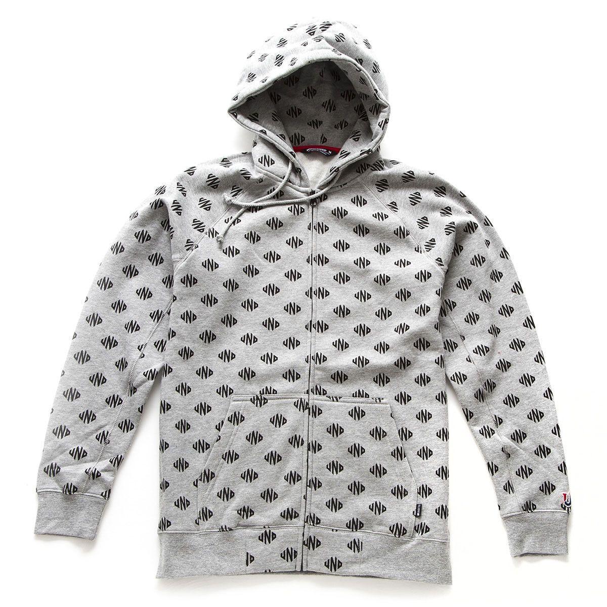Undefeated: UND Zip Hoodie - Grey Heather | Products | Zip hoodie