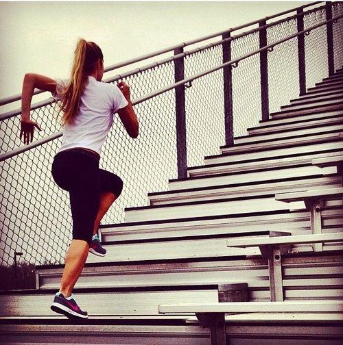 #Running: entrenamiento en escaleras para ganar fuerza   1