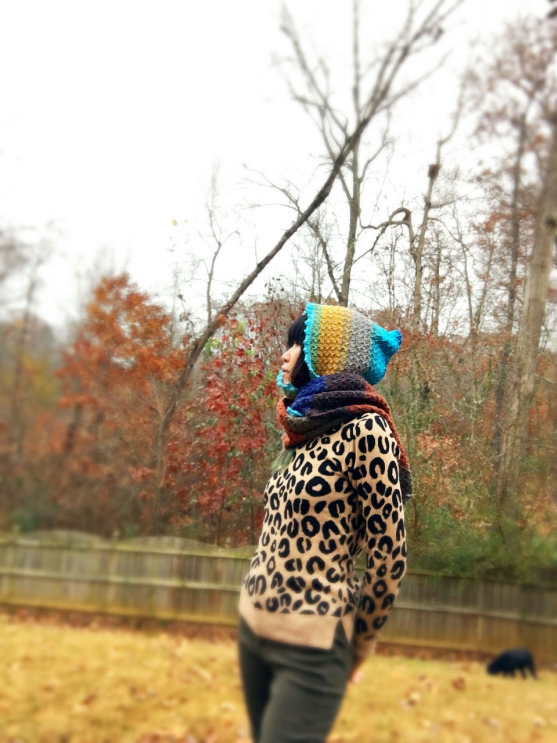 Scoodie with Lion Brabd Mandala | Crochet Fashion | Pinterest