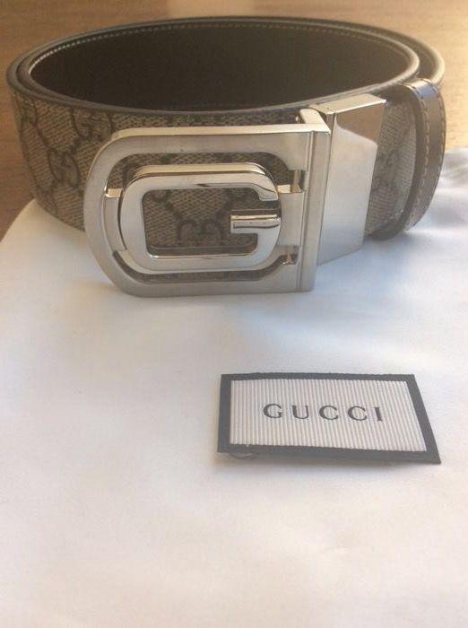 2ab8079537e Gucci - riem De sluiting van de nieuwe collectie/2017 uniseks gordel GG en  iconische