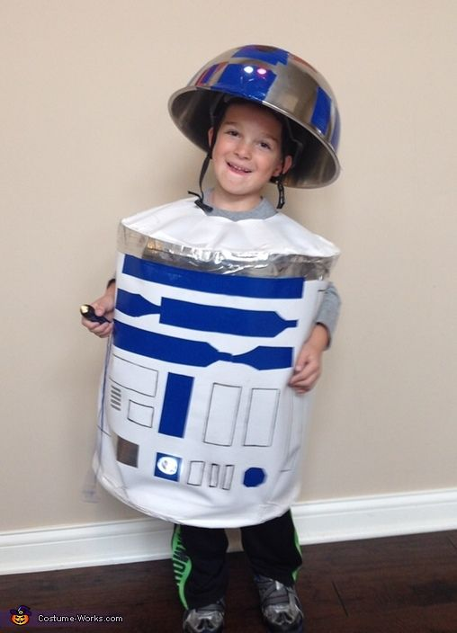 R2d2 Costume Diy Little R2D2 Costume | ...