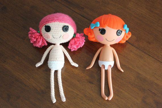 Amigurumi Doll Lalaloopsy Pattern : Pattern lalaloopsy amigurumi doll van epickawaii op etsy doll