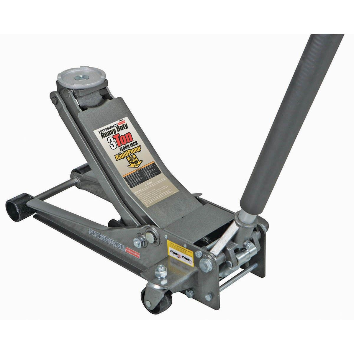 Pittsburgh Automotive 61253 3 Ton Heavy Duty Floor Jack With Rapid