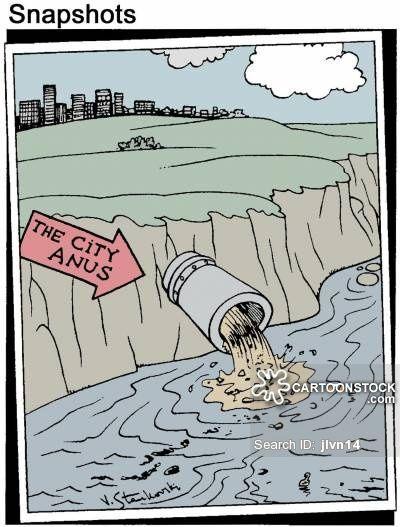 Water Pollution cartoons, Water Pollution cartoon, funny ...