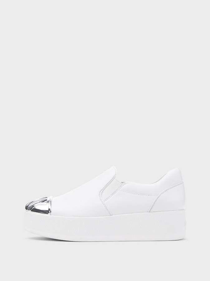 66930018d0e Donna Karan Donnakaran Rosa Slip On Platform Sneaker