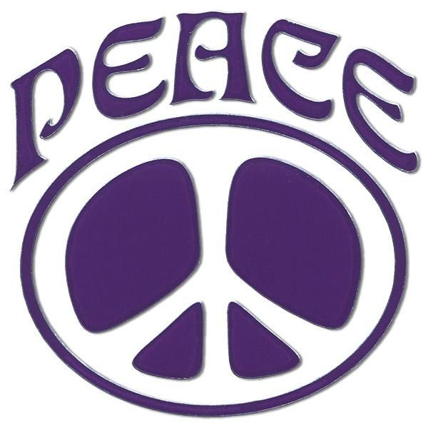 3D Peace Sign Wallpaper | Purple Peace Sign Inbloom peace ...